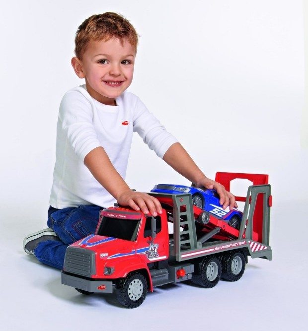 Dickie Toys Air Pump Car Transporter Only $9.09!  (Reg. $30)