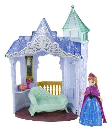 Disney Frozen MagiClip Flip 'N Switch Castle And Anna Doll Only $10.70!
