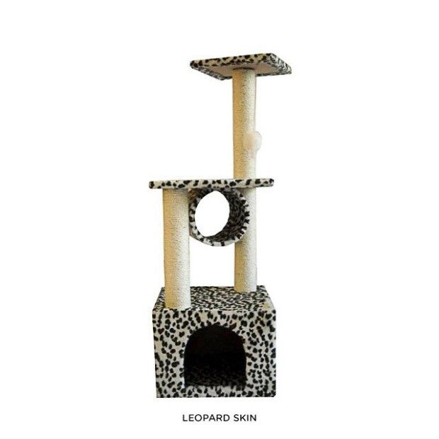 "42"" Kitten Tree Condo - Assorted Styles Only $41.00 Shipped!"