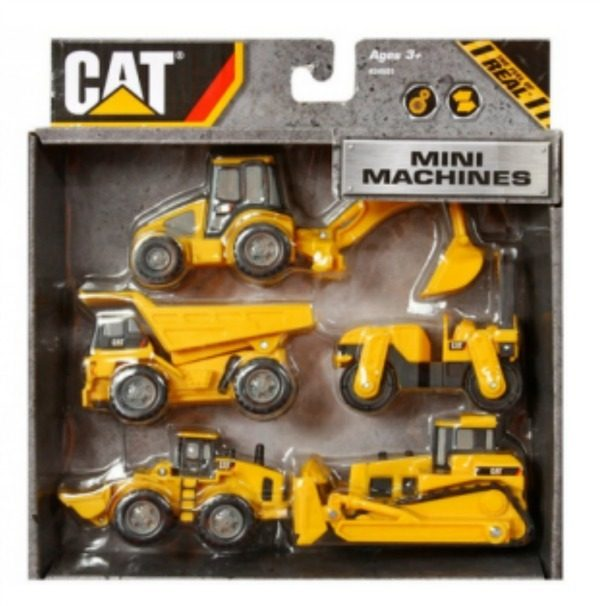 Caterpillar Construction Mini Machine 5-Pack Just $5.88!