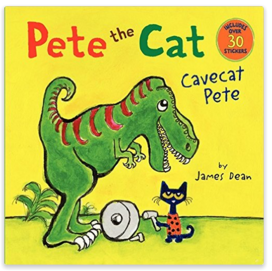 Pete The Cat: Cavecat Pete  Just $2.62 Down From $5!
