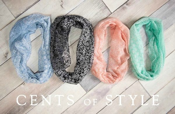 Infinity Scarves Just $5.95 With Code SPRING Plus FREE Shipping!