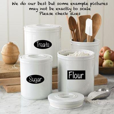40 Chalkboard Labels in Ovals and Rectangles Just $10.95!