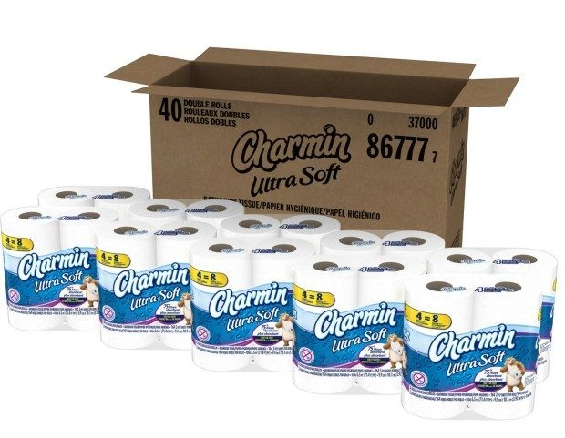 Charmin Ultra Soft 10 Packs of 4 Double Rolls Just $18.87 Today Only #HappyPrimeDay!