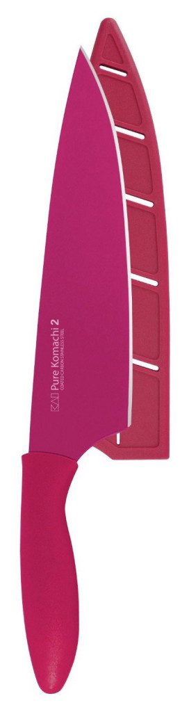 "8"" Chef's Knife In Fuchsia Only $9.79!"