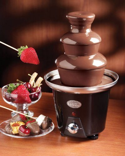 Nostalgia Electrics Mini Chocolate Fountain Just $15! (reg. $40)