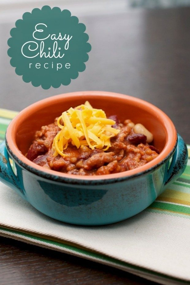 31 Easy Chili Recipes!