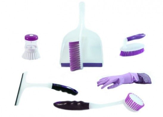 Home Collections 8 Piece Cleaning Set In PVC Bag Just $13.49 Down From $59.99! Ships FREE!