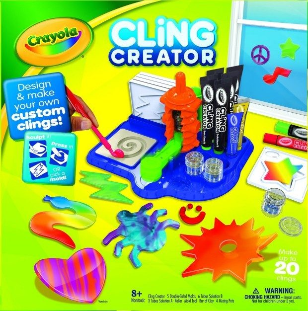 Crayola Cling Creator Just $12.49! (reg. $24.99)