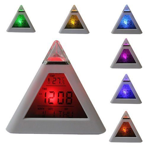 Pyramid Digital Alarm Clock Only $3.80 + Ships FREE!