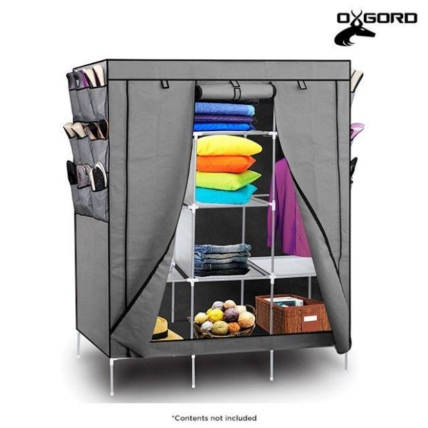 Portable Wardrobe Closet Only $29 Shipped!