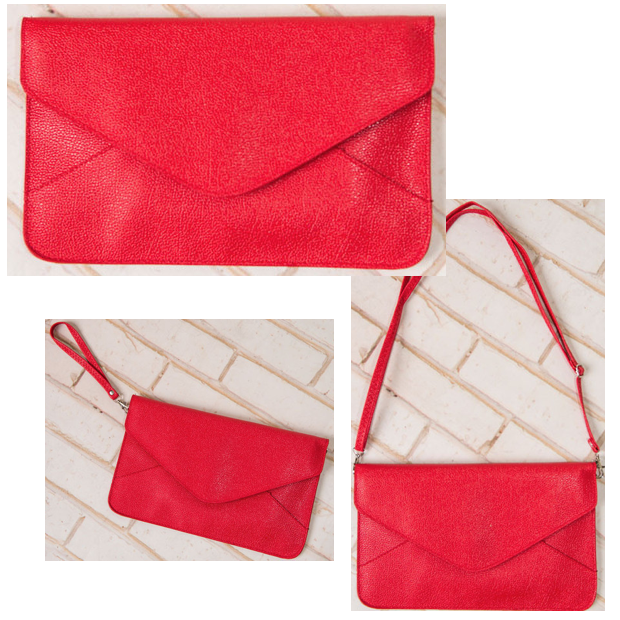 Alesha Envelope Clutch Only $9.95!
