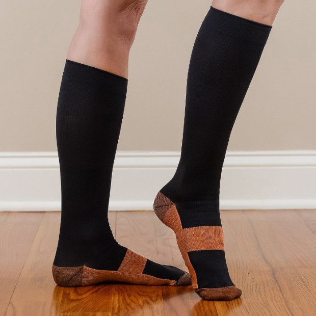 Copper Anti-Fatigue Compression Socks Just $10.99! Ship FREE!