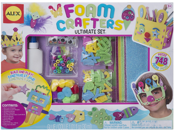 ALEX Toys Craft Foam Crafters Ultimate Set Just $12 Down From $35!