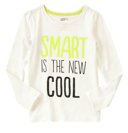 Smart Is The New Cool Tee Just $3.99!