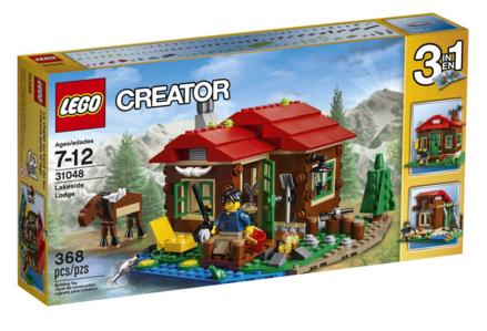 LEGO Creator Lakeside Lodge 31048 Just $24 Down From $30!
