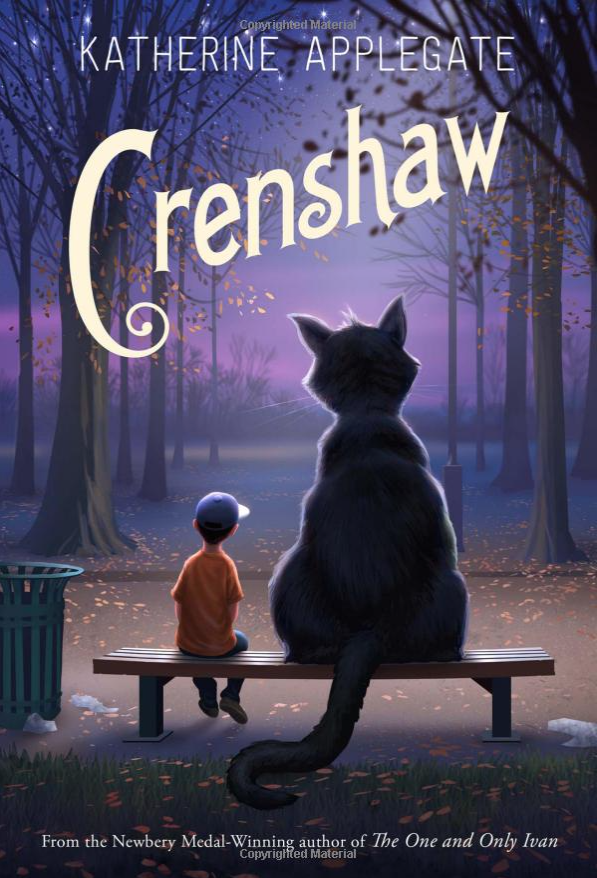 Crenshaw By Katherine Applegate Only $10.19! Down from $17!