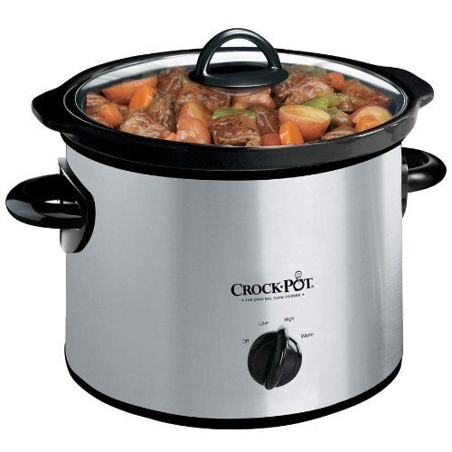 Crock-Pot 3-Quart Slow Cooker Only $20.99!