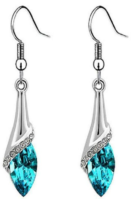 Crystal Teardrop Earrings Only $3.35 + FREE Shipping!