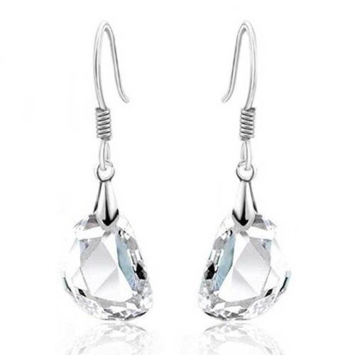 Swarovski Crystal Earrings Only $4.99 + FREE Shipping!