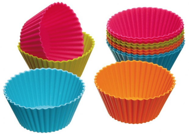 Silicone Cupcake Wrappers - 12 Pk - Only $3.33 Plus FREE Shipping!