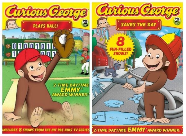 Curious George DVDs Just $5 Each!
