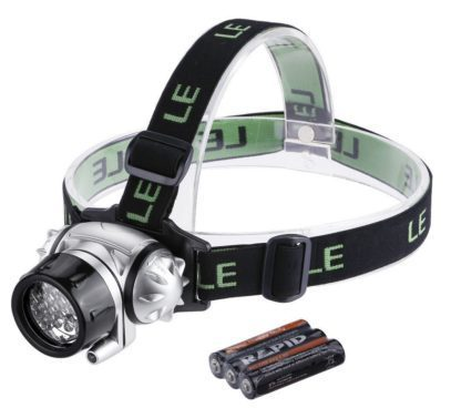 LED Headlamp For Hiking, Running & More Just $7.99! (reg. $19)