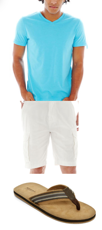 Get Dad Shorts, A Tee & Flip-Flops For A Casual Father's Day!