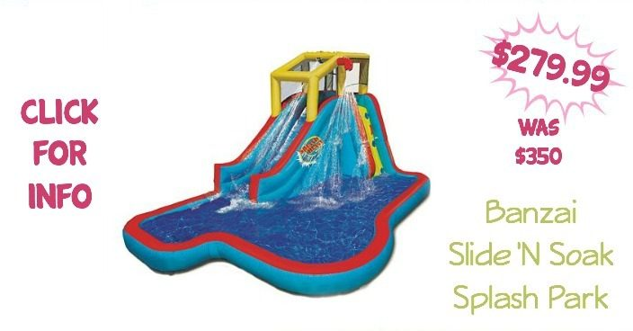 Banzai Slide 'N Soak Splash Park Just $279.99! (Down From $350!)