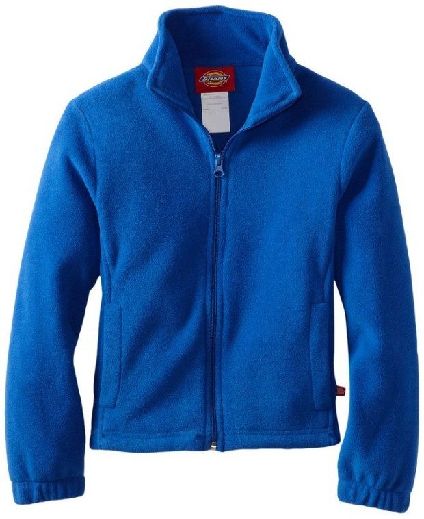 Dickies Big Girls' Polar-Fleece Zip Jacket Only $7.06 (Originally $42)!