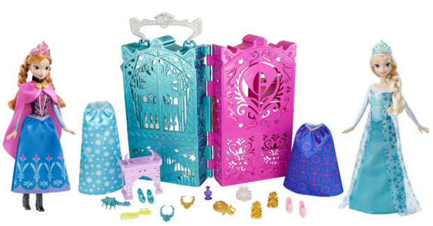 Disney Frozen Anna And Elsa's Royal Closet Gift Set Just $17 Down From $60!