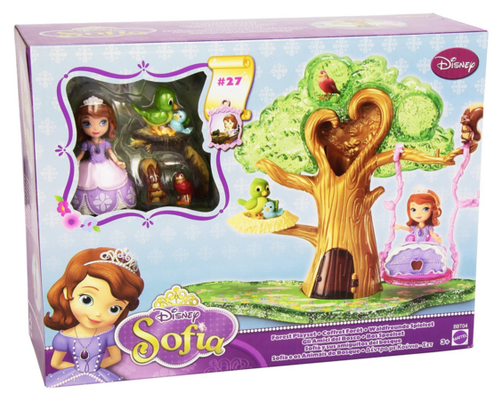 Disney's Sofia The First Forest Playset Works With Magical Talking Castle Just $14 Down From $48!