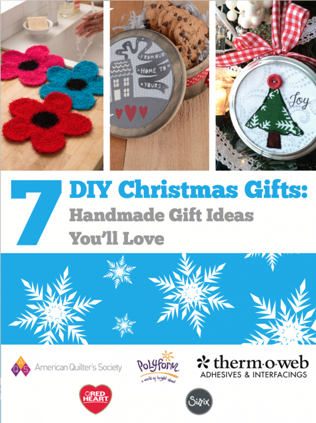FREE DIY Christmas Gifts eBook From Favecrafts!