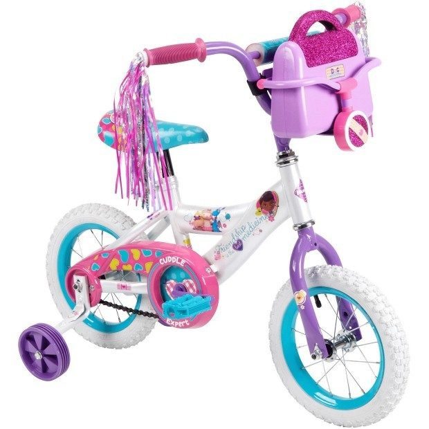 "12"" Huffy Disney Doc McStuffins Girls' Bike Only $39! Down From $70!"