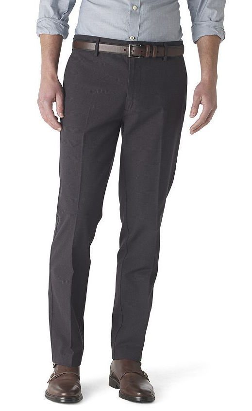 Dockers Men's Flat-Front Pants Just $14.79!