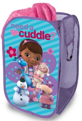 Disney Doc McStuffins Pop-up Hamper Just $7 Down From $12!