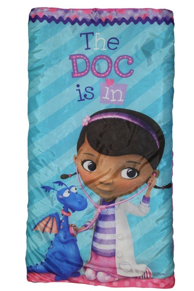 "Disney Jr Doc McStuffins ""Hugs"" Slumber Bag Only $9.58 (Reg. $23)"