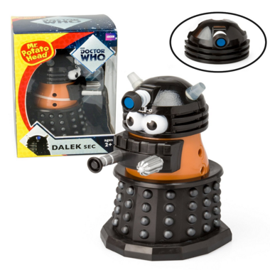 Doctor Who - Mr. Potato Head Dalek Sec - Black With Additional Head Piece Just $20 Down From $40!