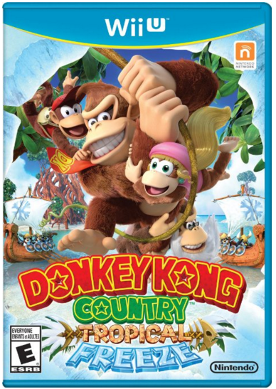 Donkey Kong Country Tropical Freeze - Nintendo Wii U Just $30 Down From $50!