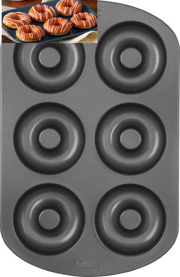 Wilton Nonstick 6-Cavity Donut Pan Just $8.95! (Reg. $16)