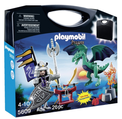 PLAYMOBIL Carrying Case Dragon Knight Playset Just $8 Down From $13!