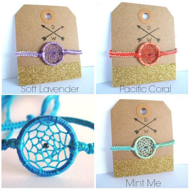 Handmade Dreamcatcher Friendship Bracelets Only $4.99!