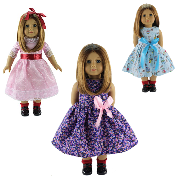 Handmade Dresses For 18'' American Girl Only $7.99 Plus FREE Shipping!