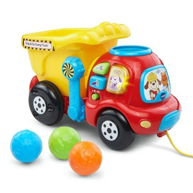 VTech Drop and Go Dump Truck Only $11.99 (Reg. $16)