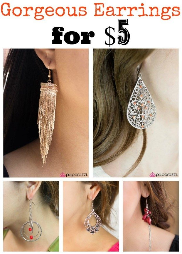 5 Gorgeous Earrings For $5!