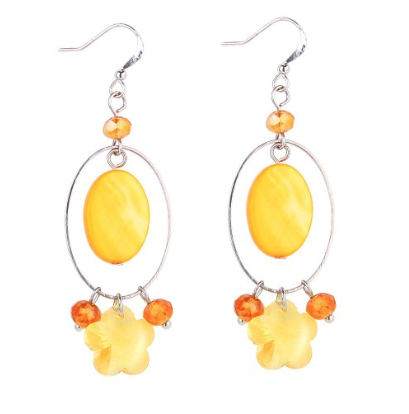 Lovely Yellow Earring Only $7.98 Shipped!