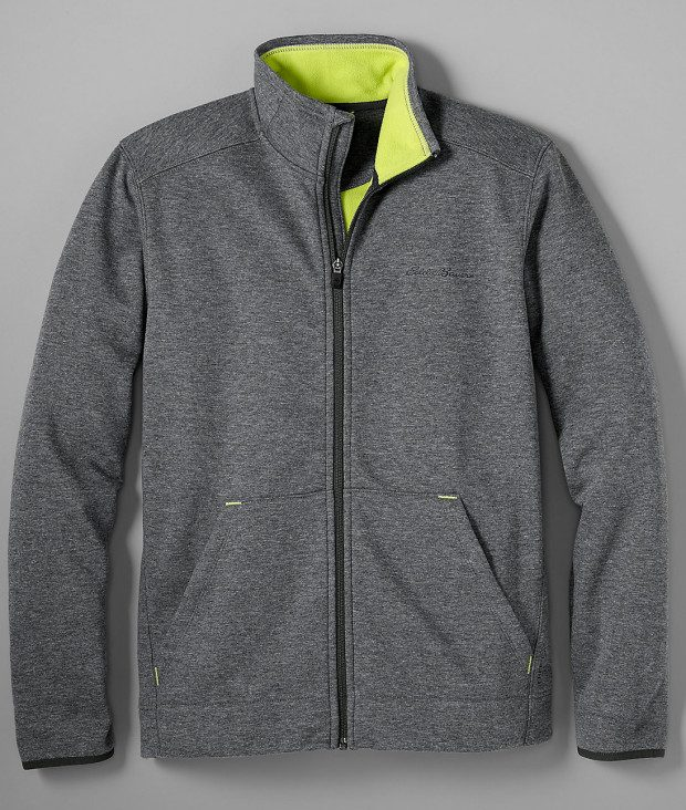Men's Firelight Full-Zip Mockneck Only $14.99!