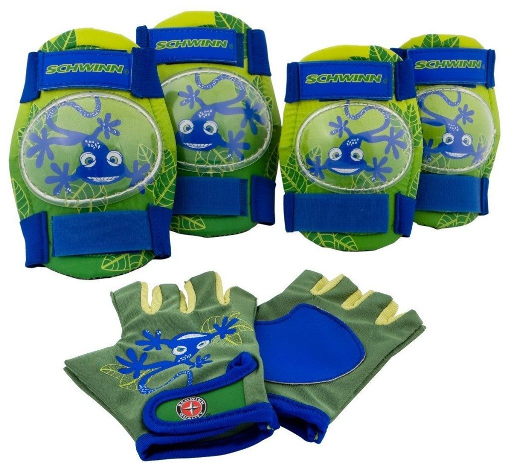schwinn boys pad set