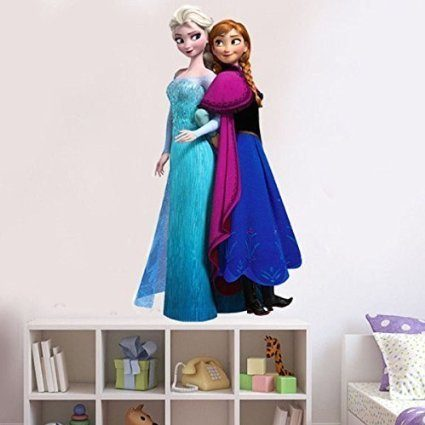 Elsa and Anna Wall Decal Just $3.86 + FREE Shipping!