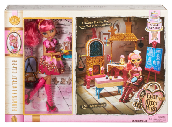 Ever After High Ginger Breadhouse Doll Play Set Just $16 Down From $40!